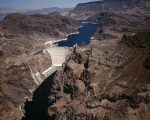 Die Umgebung vom Hoover Dam